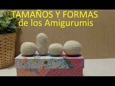 Tamaños y formas de los Amigurumis (Aprender desde cero) - YouTube Crochet Accessories, Plushies, Decorative Boxes, Weaving, Lily, Stitch, Knitting, Youtube, Baby Dolls