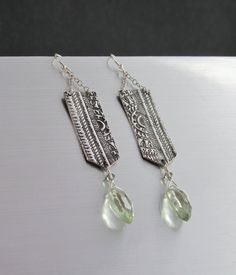 Moroccan inspired design, oxidized  to emphasize the intricate pattern by Altered Elements Jewelry