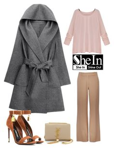 """""""shein.com contest"""" by kafetoo ❤ liked on Polyvore featuring WithChic, Wallis, Tom Ford and Yves Saint Laurent"""