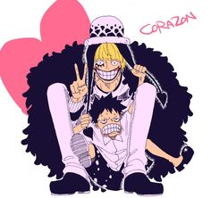 One Piece, Corazon, Law