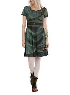 <p>Cosplay dress from <i>The Legend Of Zelda</i> with a Link inspired design.</p>  <ul> <li>95% polyester; 5% spandex</li> <li>Hand wash cold; dry flat</li> <li>Imported</li> </ul>  <p></p>
