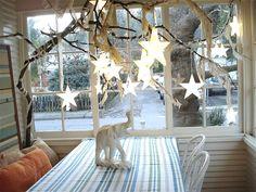 Christmas decorations: fairy lights