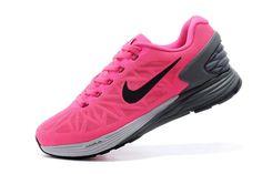 Womens Black Nike Shoes Air Lunar Xi 6 Peach Red Gray  $80.61
