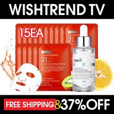 [Wishtrend TV] 30 Days Skin Transformation Kit
