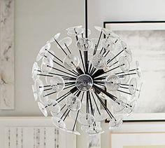 "24"" D - $699 - Zuri Sputnik Chandelier #potterybarn"
