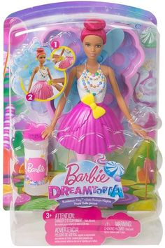 MATTEL - Barbie Dreamtopia Bubbletastic Fairy Doll. Barbie Dolls. I'm an affiliate marketer. When you click on a link or buy from the retailer, I earn a commission.