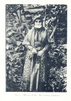 Armenian woman from Shush I - looks similar to the clothes in my Ancestors photos