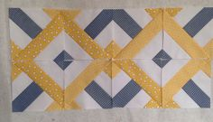 """Fabulous (and fabulously easy) """"Shape Shifter"""" blocks with tutorial from Melissa of We Shall Sew. (Pattern originally conceived of by 3 Dudes.)"""