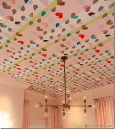 <3 ceiling wallpaper!