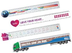 Branded rulers available!  Talk to Simon for a free sample!