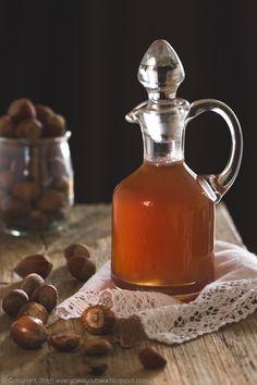 syrop orzechowy, hazelnut syrup