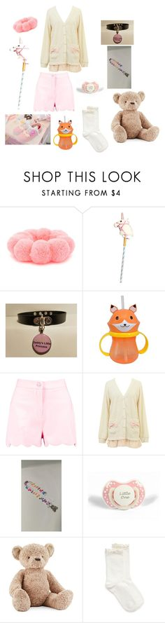 """Play time outfit"" by xxdadasbabygurlxx ❤ liked on Polyvore featuring Forever 21, Boohoo, My Little Pony, Jellycat and HUE"
