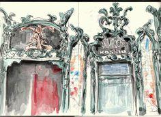 Urban Sketchers Portugal: Animatógrafo do Rossio
