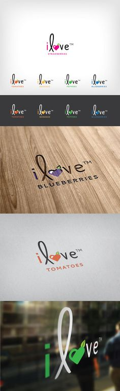 iLove | Fresh Produce Logo | Heart & Ram | Web, Graphic, Logo, Packaging Design in Charleston, SC