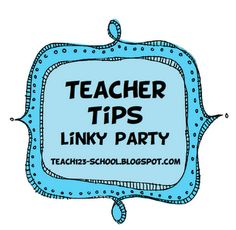 It's a linky party!  When you think about your first year of teaching or when you switched grade levels, what do you wish you would have known before you began?  What advice can you give your fellow teachers?  Share your teaching tips.