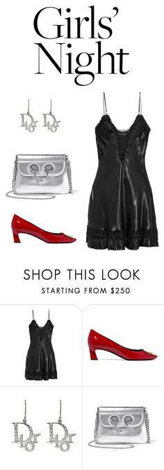 """Untitled #457"" by miran-gad ❤ liked on Polyvore featuring Alexander McQueen, Roger Vivier, Christian Dior and J.W. Anderson"