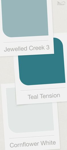 Create a gorgeous colour scheme around our Colour of the Year, teal