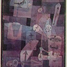 Paul Klee. Analÿse verschiedener Perversitäten, 1922