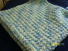 26 x 28 Soft & cozy crochet baby blanket in by StepstoAdoption, $27.50