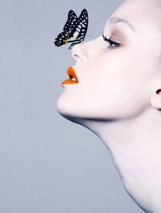 Schmetterlinge on Makeup Arts Served