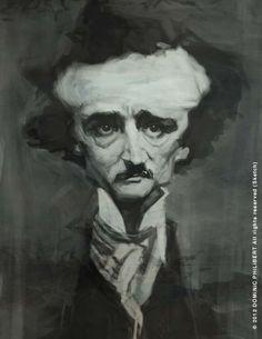 Edgar Allen Poe by Dominic Philibert.