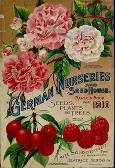Garden book for 1910 : seeds, plants and trees