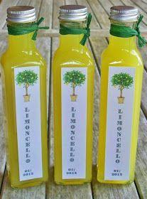 Seifenliebe...rostet nicht ♥: Limoncello selber machen & Rezept und Anleitung