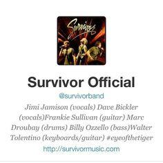 Jimi Jamison Survivor