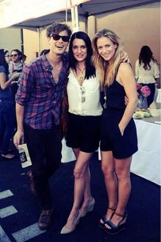 AJ Cook / Paget Brewster / Matthew Gray Gubler