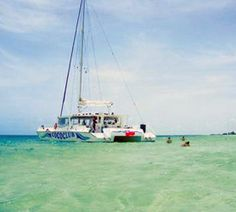 The http://CubaCayoCoco.com #Catamaran Excursion is a blast! The tour takes you out to two pristine beaches near the lighthouse, snorkeling is fantastic at any location