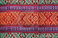 Patterns Of Native Thai Textiles