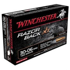 Winchester Razor Back XT .30-06 Sprg. Ammunition