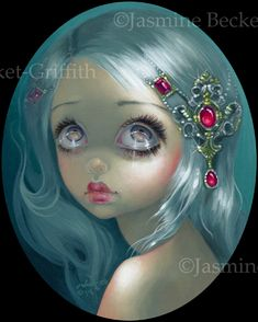 Eyes on the Heavens - Big Eyes Art by Jasmine Becket-Griffith