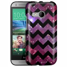 HTC One Remix Chevron Nebula Black Slim Case