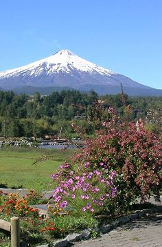 Araucania and Lakes Nature Photography, Travel Photography, Mount Fuji, Travel Pictures, South America, Travel Inspiration, Beautiful Places, Scenery, Mountains