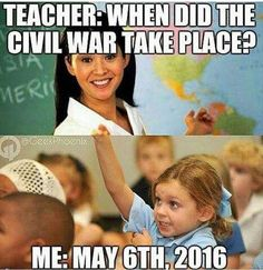 In geography we got asked that question and the people who fought in it and I immediately thought of Captain America and Iron man and Next Year xD
