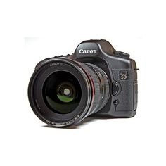 On To Cameras The Canon 5D ❤ liked on Polyvore featuring camera, electronics, accessories, fillers and tech