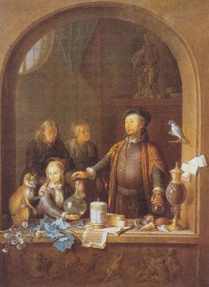 Willem van Mieris - De apotheker