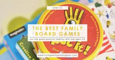 Our family has always loved playing board games, but since cutting out television and then taking (almost) all of the girls' toys away last summer away we've taken that love to a whole new level! Playing family board games together is by far our favorite evening and weekend activity.