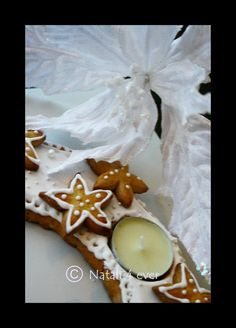 Xmas gingerbread table wreath