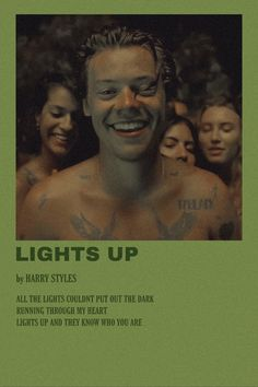 #harrystyles #lightsup #onedirection #fineline #polaroid #musicposter #poster Harry Styles Songs, Harry Styles Poster, Harry Styles Photos, Harry Edward Styles, Minimalist Music, Minimalist Poster, Room Posters, Poster Wall, Music Posters