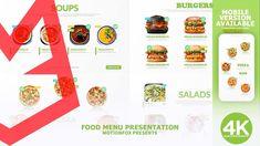 Restaurant Food Menu Promotion - Vegan Menu Restaurant, Restaurant Recipes, Food Menu, Pizza Recipes, Cute Art, Promotion, Presentation, Templates, Vegan