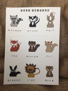 Image result for foxy friends stampin up
