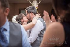 Kissing bride and groom on the dance floor at Athelhampton wedding in Dorset Wedding Bands, Wedding Venues, Wedding First Dance, Bridesmaid Getting Ready, Dance Routines, Wedding Breakfast, Civil Ceremony, Father Of The Bride, Kissing