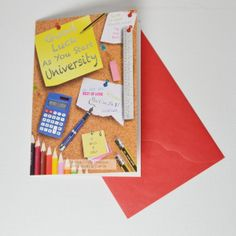 UK Greeting Cards Online - Good Luck At University Cards, £1.65 (http://www.ukgreetingcards.co.uk/good-luck-at-university-cards/)
