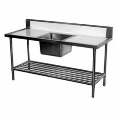 Commercial Stainless Steel Bench Simply Stainless Ss08