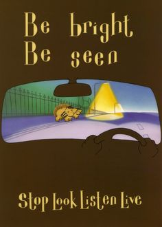 Road #Safety for children: Stop. Look. Listen. Live.