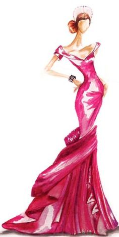 Fashion Drawings Fashion Illustration by Claire Ashley Thompson - Fashion Sketchbook, Fashion Sketches, Fashion Illustrations, Fashion Drawings, Moda Fashion, Fashion Art, Dress Sketches, Illustration Sketches, Mannequins