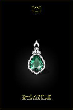 Stone Jewelry, Jewelry Art, Jewelry Design, Pendant Set, Diamond Pendant, Bridal Necklace, Bridal Jewelry, Jewellery Sketches, Jewelry Sketch