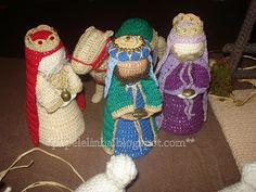 Amigurumi Nativity Español : Muñeco papá noel amigurumi patrón gratis en español aquí